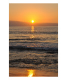 Winter Sunset in Maui Photographic Print by Chris Burns