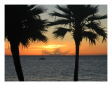 Sunset in Paradise Photographic Print by Chris Burns