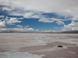 Clouds Over a Salt Flat, Salinas Grandes, Jujuy Province, Argentina Photographic Print