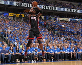 Miami Heat v Dallas Mavericks - Game Five, Dallas, TX -June 9: Chris Bosh Photographic Print by Nathaniel S. Butler