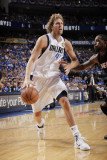 Miami Heat v Dallas Mavericks - Game Five, Dallas, TX -June 9: Dirk Nowitzki and Udonis Haslem Photographic Print by Glenn James