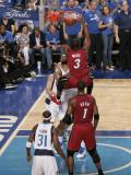 Miami Heat v Dallas Mavericks - Game Four, Dallas, TX -June 7: Dwyane Wade and Tyson Chandler Photographic Print by Glenn James