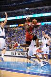 Miami Heat v Dallas Mavericks - Game Three, Dallas, TX -June 5: LeBron James Photographic Print by Garrett Ellwood