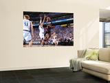 Miami Heat v Dallas Mavericks - Game Five, Dallas, TX -June 9: Dwyane Wade and Tyson Chandler Wall Mural by Jesse D. Garrabrant