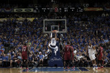 Miami Heat v Dallas Mavericks - Game Four, Dallas, TX -June 7: Shawn Marion, Chris Bosh and Joel An Photographic Print by Glenn James