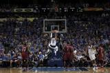Miami Heat v Dallas Mavericks - Game Four, Dallas, TX -June 7: Shawn Marion, Chris Bosh and Joel An Photographic Print by Glenn James