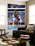 Miami Heat v Dallas Mavericks - Game Five, Dallas, TX -June 9: LeBron James and Dirk Nowitzki Wall Mural by Garrett Ellwood