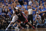 Miami Heat v Dallas Mavericks - Game Five, Dallas, TX -June 9: LeBron James and Shawn Marion Photographic Print by Glenn James
