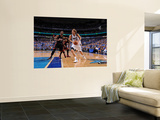 Miami Heat v Dallas Mavericks - Game Five, Dallas, TX -June 9: Dirk Nowitzki and Chris Bosh Wall Mural by Andrew Bernstein