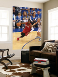 Miami Heat v Dallas Mavericks - Game Three, Dallas, TX -June 5: Dwyane Wade and Jason Kidd Wall Mural by Victor Baldizon