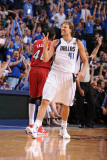 Miami Heat v Dallas Mavericks - Game Three, Dallas, TX -June 5: Dirk Nowitzki Photographic Print by Andrew Bernstein