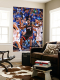 Miami Heat v Dallas Mavericks - Game Five, Dallas, TX -June 9: LeBron James and Shawn Marion Wall Mural by Jesse D. Garrabrant