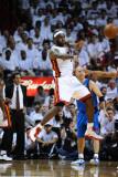Dallas Mavericks v Miami Heat - Game Six, Miami, FL - June 12: LeBron James Photographic Print by Garrett Ellwood