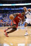 Miami Heat v Dallas Mavericks - Game Four, Dallas, TX -June 7: LeBron James and Shawn Marion Photographic Print by Garrett Ellwood
