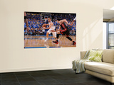 Miami Heat v Dallas Mavericks - Game Five, Dallas, TX -June 9: Jose Barea and Mike Bibby Wall Mural by Andrew Bernstein