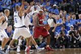 Miami Heat v Dallas Mavericks - Game Three, Dallas, TX -June 5: LeBron James, Shawn Marion and Tyso Photographic Print by Glenn James