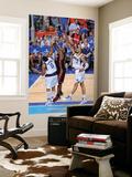 Miami Heat v Dallas Mavericks - Game Five, Dallas, TX -June 9: LeBron James, Shawn Marion and Tyson Wall Mural by Andrew Bernstein