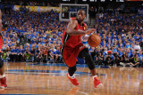 Miami Heat v Dallas Mavericks - Game Three, Dallas, TX -June 5: Dwyane Wade Photographic Print by Andrew Bernstein