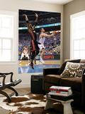 Miami Heat v Dallas Mavericks - Game Five, Dallas, TX -June 9: Jose Juan Barea and Chris Bosh Wall Mural by Mike Ehrmann