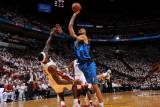 Dallas Mavericks v Miami Heat - Game Six, Miami, FL - June 12: Tyson Chandler and LeBron James Photographic Print by Andrew Bernstein