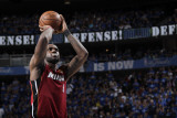 Miami Heat v Dallas Mavericks - Game Four, Dallas, TX -June 7: LeBron James Photographic Print by Glenn James