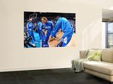 Miami Heat v Dallas Mavericks - Game Five, Dallas, TX -June 9: Dirk Nowitzki Wall Mural by Andrew Bernstein