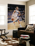 Miami Heat v Dallas Mavericks - Game Five, Dallas, TX -June 9: Dirk Nowitzki and Udonis Haslem Wall Mural by Glenn James