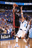 Miami Heat v Dallas Mavericks - Game Five, Dallas, TX -June 9: Dwyane Wade and Shawn Marion Photographic Print by Andrew Bernstein