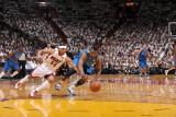 Dallas Mavericks v Miami Heat - Game Six, Miami, FL - June 12: DeShawn Stevenson and Eddie House Photographic Print by Andrew Bernstein