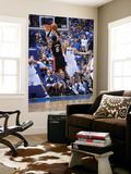 Miami Heat v Dallas Mavericks - Game Five, Dallas, TX -June 9: Dirk Nowitzki and LeBron James Wall Mural by Garrett Ellwood