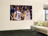 Miami Heat v Dallas Mavericks - Game Five, Dallas, TX -June 9: Tyson Chandler and Brian Cardinal Wall Mural by Ronald Martinez