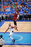 Miami Heat v Dallas Mavericks - Game Three, Dallas, TX -June 5: Dwyane Wade and Jason Terry Photographic Print by Andrew Bernstein