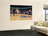 Miami Heat v Dallas Mavericks - Game Five, Dallas, TX -June 9: Dirk Nowitzki and Joel Anthony Wall Mural by Ronald Martinez