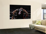 Miami Heat v Dallas Mavericks - Game Five, Dallas, TX -June 9: LeBron James Wall Mural by Nathaniel S. Butler