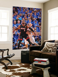 Miami Heat v Dallas Mavericks - Game Five, Dallas, TX -June 9: Dwyane Wade and Jason Kidd Wall Mural by Jesse D. Garrabrant