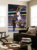 Miami Heat v Dallas Mavericks - Game Five, Dallas, TX -June 9: Tyson Chandler and Chris Bosh Wall Mural by Mike Ehrmann