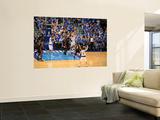 Miami Heat v Dallas Mavericks - Game Five, Dallas, TX -June 9: Joel Anthony and Dirk Nowitzki Wall Mural by Noah Graham