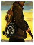 """Pocket Pal,"" November 17, 1945 Giclee Print by Albert Staehle"