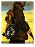 """Pocket Pal,"" November 17, 1945 Giclee Print by Albert Staehle"