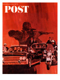 """The Kennedy Assassination,"" Saturday Evening Post Cover, January 14, 1967 Giclee Print by Fred Otnes"