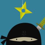 Peek-a-Boo Heroes: Ninja Kunstdrucke von Yuko Lau