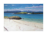 Eigg and Rum From Arisaig Collectable Print by Frank Colclough