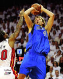 Dallas Mavericks - Dirk Nowitzki Action, Game 2 Photo