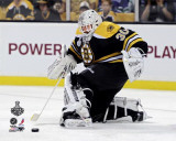 Boston Bruins - Tim Thomas Action, Game 3 Photo