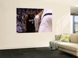 Miami Heat v Dallas Mavericks - Game Five, Dallas, TX -June 9: LeBron James Wall Mural by Ronald Martinez
