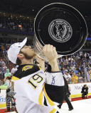 Boston Bruins - Tyler Seguin w/ Stanley Cup Photo