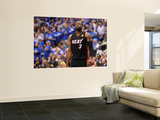 Miami Heat v Dallas Mavericks - Game Five, Dallas, TX -June 9: Dwyane Wade Wall Mural by Mike Ehrmann