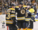 Boston Bruins - Brad Marchand, Patrice Bergeron, & Mark Recchi Photo
