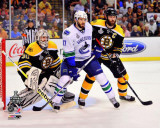 Boston Bruins - Tim Thomas & Zdeno Chara Photo