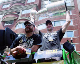 Boston Bruins - Tim Thomas & Zdeno Chara Victory Parade Photo